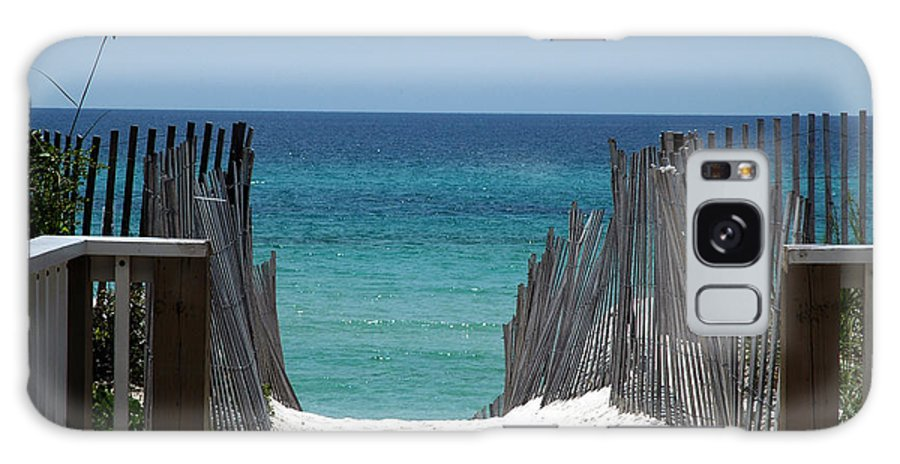 Photography Galaxy S8 Case featuring the photograph Way To The Beach by Susanne Van Hulst