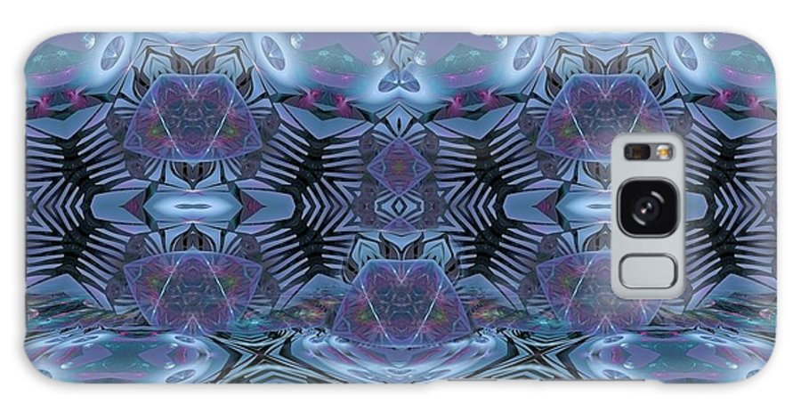 Fractal Galaxy S8 Case featuring the digital art We Have Our Seasons by Gayle Odsather