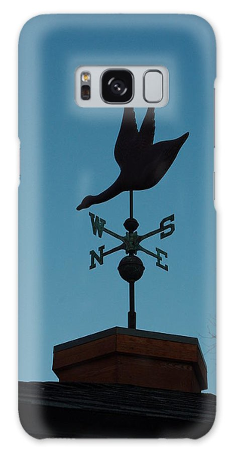 Weather Vane Galaxy S8 Case featuring the photograph Weather Vane by Alice Markham