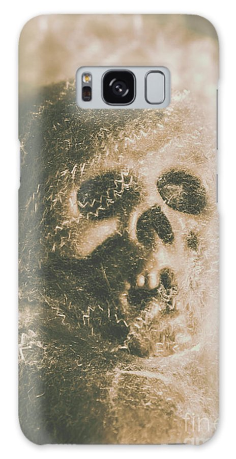 Bone Galaxy S8 Case featuring the photograph Webs And Dead Heads by Jorgo Photography - Wall Art Gallery
