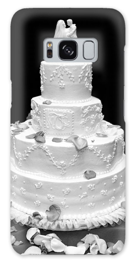 Wedding Galaxy Case featuring the photograph Wedding Cake by Marilyn Hunt