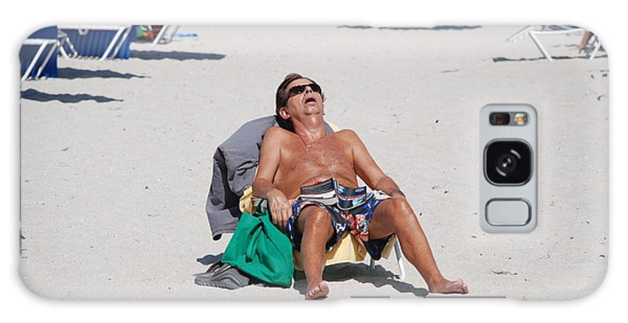 Beach Galaxy Case featuring the photograph Weekend At Bernies by Rob Hans