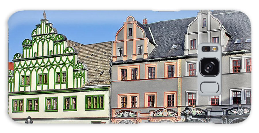 Weimar Galaxy S8 Case featuring the photograph Weimar Germany - A Town Of Timeless Appeal by Christine Till