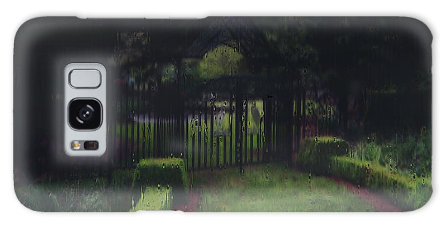 Landscape Galaxy S8 Case featuring the painting Welcome To Dudleytown by RC DeWinter