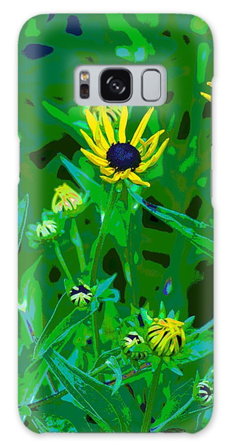 Photo Art Galaxy S8 Case featuring the photograph Welcome To The Garden by Ben Upham III