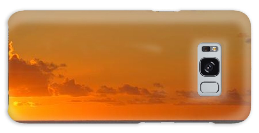 Sun Galaxy S8 Case featuring the photograph West From Frigate Bay by Ian MacDonald