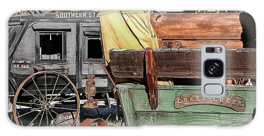 Old Galaxy S8 Case featuring the photograph Westward Wagons by Patricia Montgomery