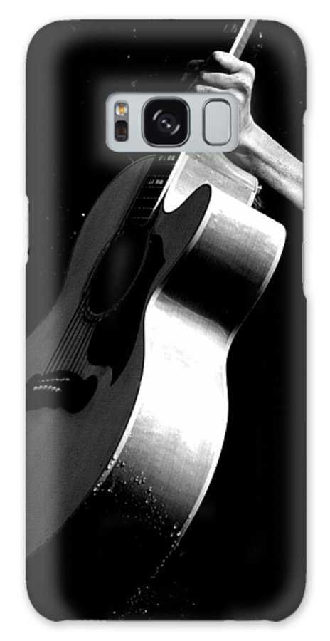 Guitar Galaxy S8 Case featuring the photograph Wet by Elizabeth Hart