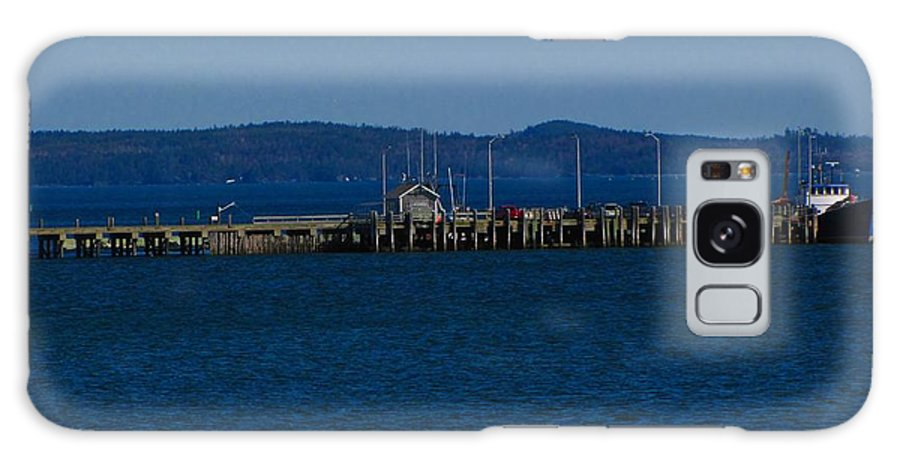 Wharf Galaxy S8 Case featuring the photograph Wharf by Melissa Parks