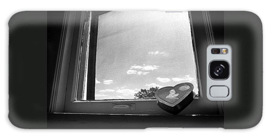 Window Galaxy S8 Case featuring the photograph What Remains by Ted M Tubbs