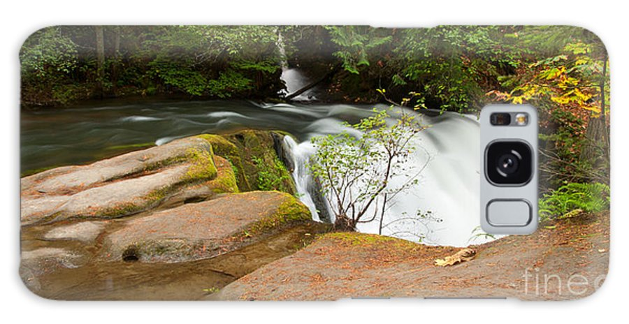 Waterfall Galaxy S8 Case featuring the photograph Whatcom Falls by Idaho Scenic Images Linda Lantzy