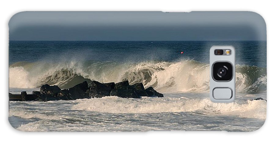 Jersey Shore Galaxy Case featuring the photograph When The Ocean Speaks - Jersey Shore by Angie Tirado