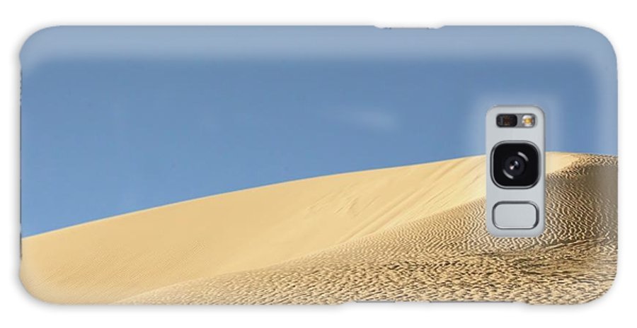 Sand Galaxy S8 Case featuring the photograph Where The Sand Meets The Sky by Susan Westervelt