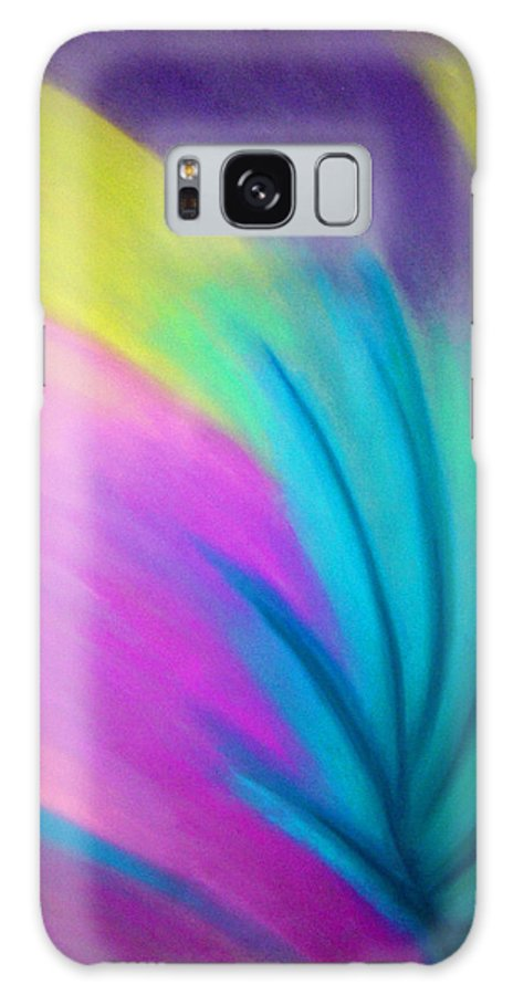 Pastel; Colors; Abstract Drawing Galaxy S8 Case featuring the drawing Whirlwind by Jan Gilmore
