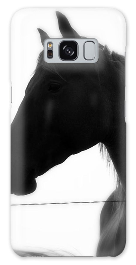 Horse Galaxy S8 Case featuring the photograph Whisper Me Your Tears by Elizabeth Hart
