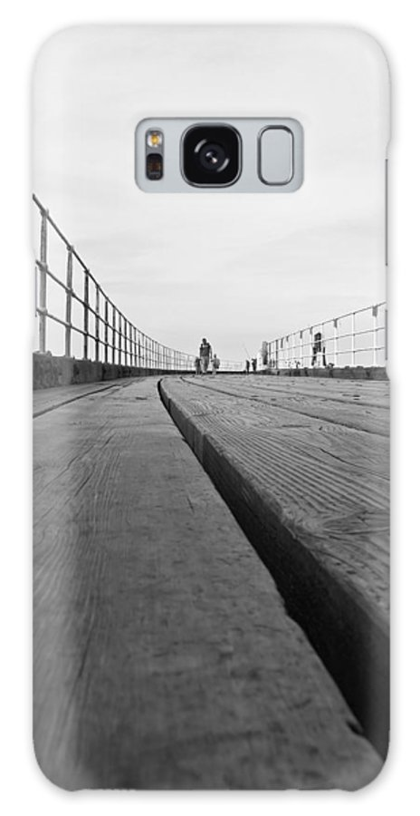 Whitby Pier Galaxy S8 Case featuring the photograph Whitby Pier by Svetlana Sewell