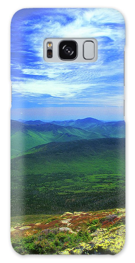 New Hampshire Galaxy S8 Case featuring the photograph White Mountain Leafout From Franconia Ridge by John Burk