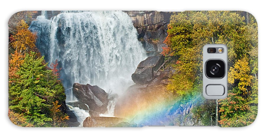Waterfall Galaxy S8 Case featuring the photograph Whitewater Falls by David Freuthal