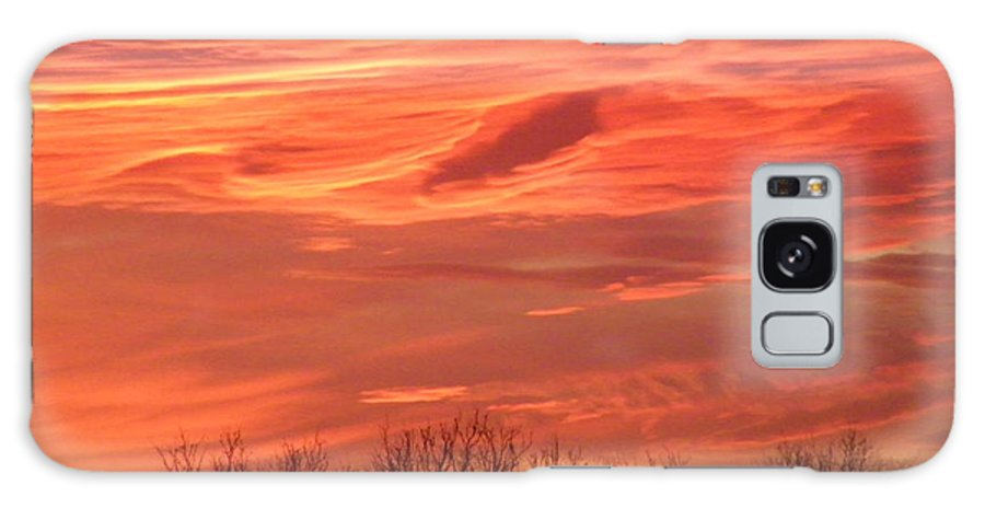 Sunset Galaxy S8 Case featuring the photograph Who Needs Jupiter by Gale Cochran-Smith