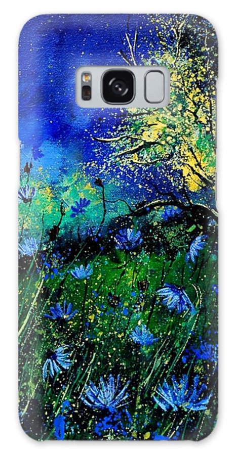 Poppies Galaxy S8 Case featuring the painting Wild Chocoree by Pol Ledent