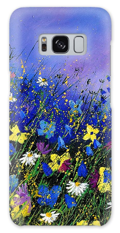 Flowers Galaxy S8 Case featuring the painting Wild Flowers 560908 by Pol Ledent