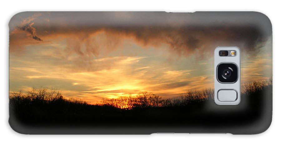 Sun Galaxy S8 Case featuring the photograph Wild Sunset by George Jones