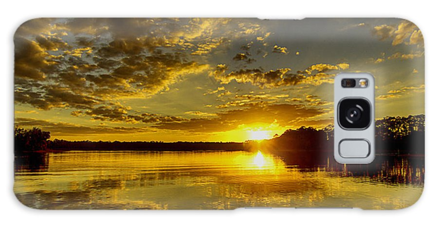Wildcat Galaxy S8 Case featuring the photograph Wildcat Sunset by Tress Chapin