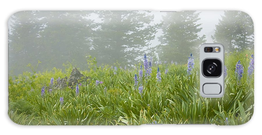 Wildflowers Galaxy S8 Case featuring the photograph Wildflowers And Fog by Idaho Scenic Images Linda Lantzy