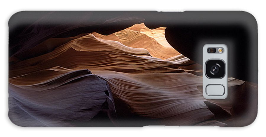Antelope Canyon Galaxy S8 Case featuring the photograph Wind And Water by Kathy McClure