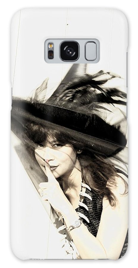 Portrait Galaxy Case featuring the photograph Wind by Viktor Savchenko