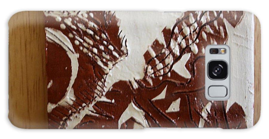 Jesus Galaxy S8 Case featuring the ceramic art Window - Tile by Gloria Ssali