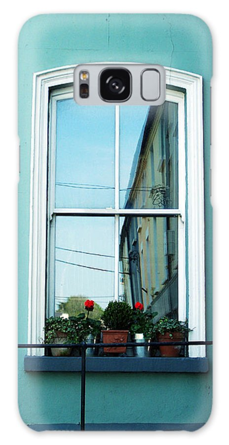 Irish Galaxy S8 Case featuring the photograph Window In Ennistymon Ireland by Teresa Mucha