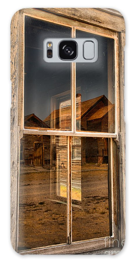 Bannack Galaxy S8 Case featuring the photograph Window Into The Montana Past by Adam Jewell