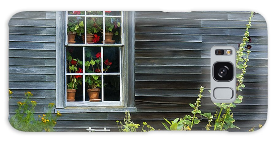 Olson House Galaxy S8 Case featuring the photograph Window Of Olson House by Sharon M Connolly