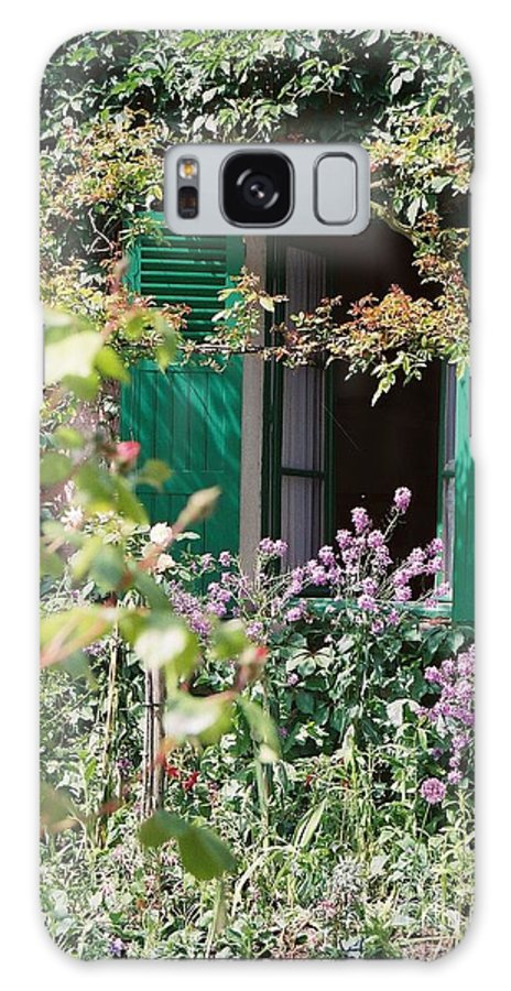 Charming Galaxy S8 Case featuring the photograph Window To Monet by Nadine Rippelmeyer