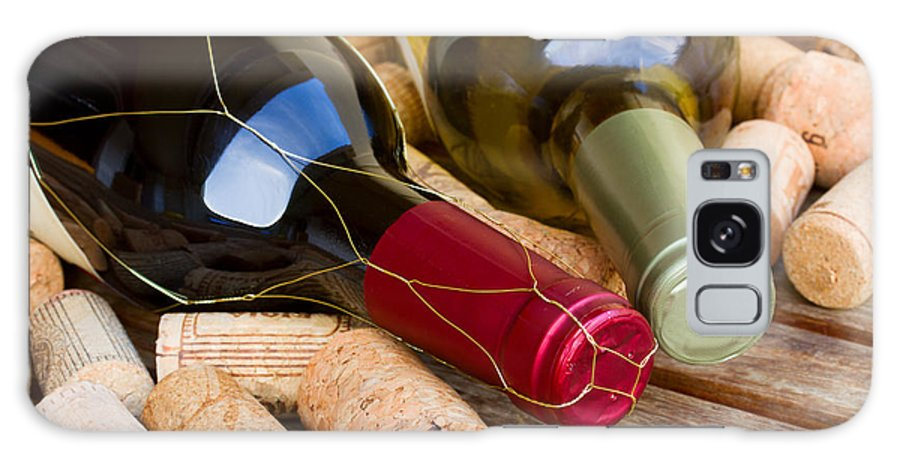 Wine Galaxy S8 Case featuring the photograph Wine Bottles by Anastasy Yarmolovich