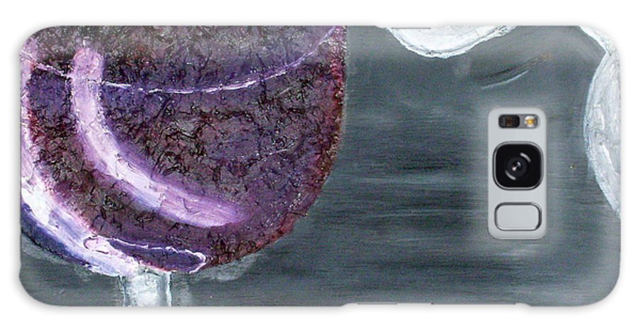 Still Life Paintings Galaxy S8 Case featuring the painting Wine From The Vine To The Glass by Leslye Miller