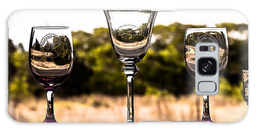 Wine Glass Galaxy S8 Case featuring the photograph Wine Glass by Craig Watanabe