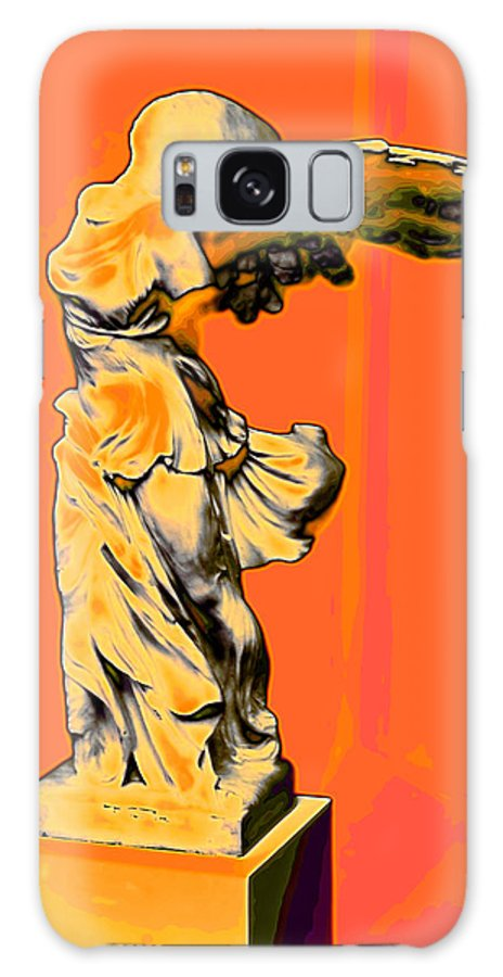 Sculpture Galaxy S8 Case featuring the photograph Winged Victory by Carl Purcell