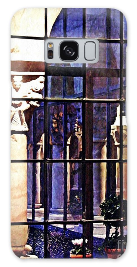 Cloister Galaxy S8 Case featuring the photograph Winter Afternoon At The Cloisters 4 by Sarah Loft