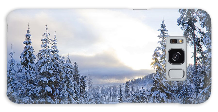 Winter Galaxy S8 Case featuring the photograph Winter Atmosphere by Idaho Scenic Images Linda Lantzy
