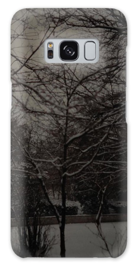 Lights Galaxy S8 Case featuring the photograph Winter Dusk by Rob Hans
