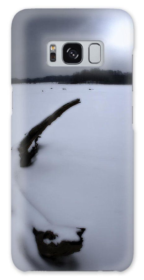Winter Galaxy Case featuring the photograph Winter Moonrise by Kenneth Krolikowski