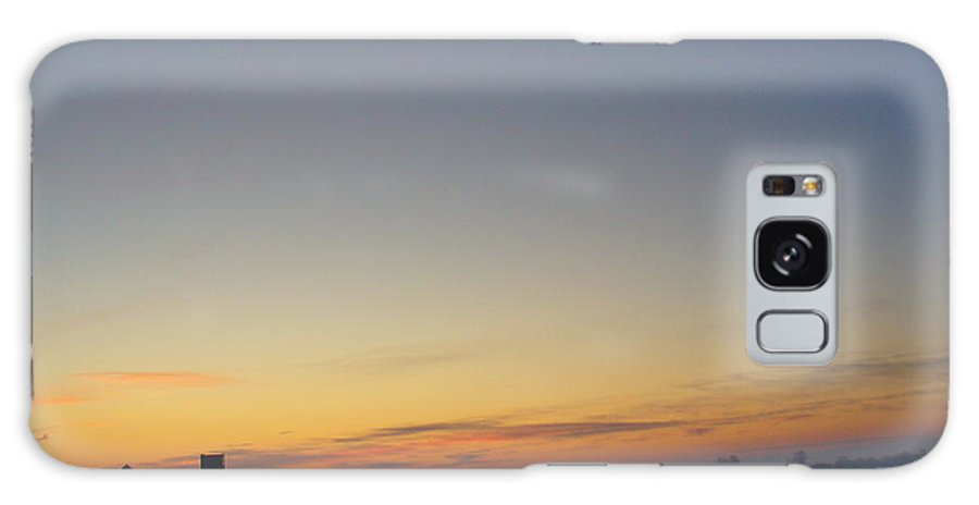 Photography Galaxy S8 Case featuring the photograph Winter Sunrise Over The Farm by Peggy King