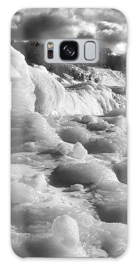 Photography Galaxy S8 Case featuring the photograph Winter Texture by Frederic A Reinecke
