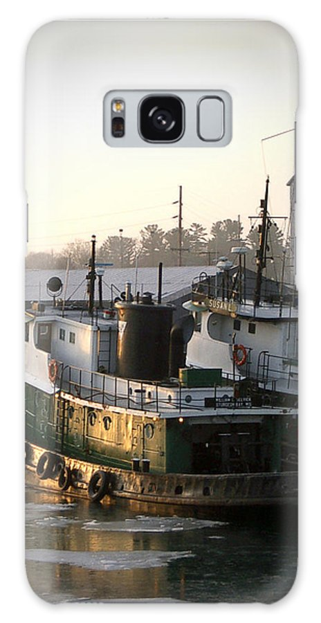 Tugs Galaxy Case featuring the photograph Winter Tugs by Tim Nyberg