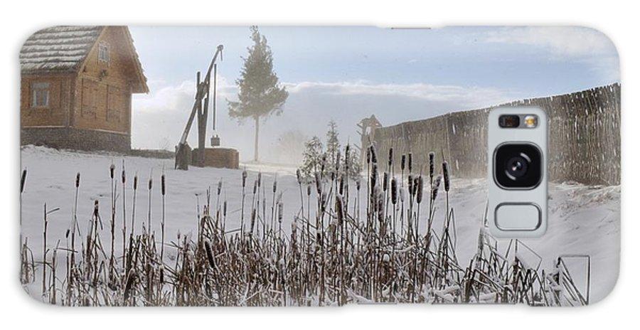 Attractive Galaxy S8 Case featuring the photograph Winter Village by Vadzim Kandratsenkau