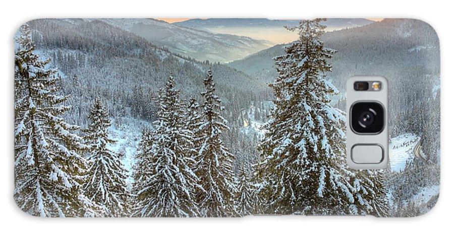 Winter Galaxy S8 Case featuring the photograph Winterlands by Gabriela Insuratelu