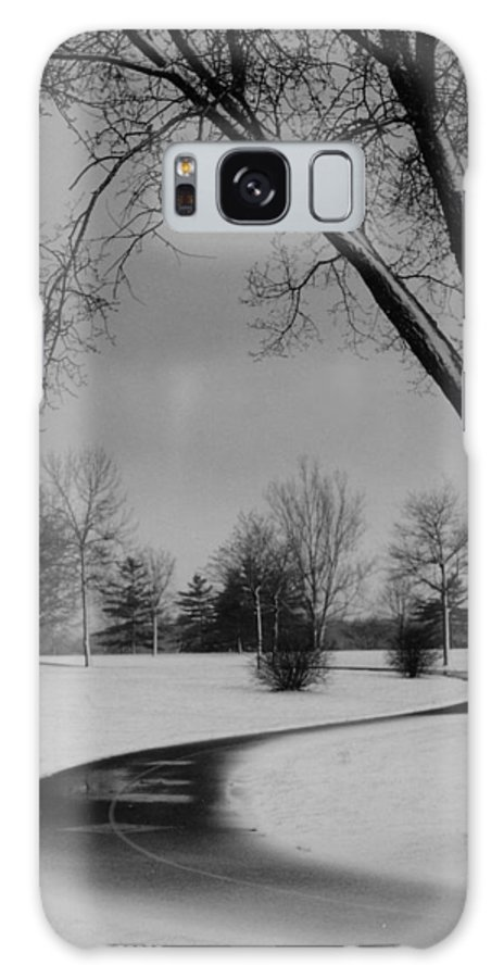 'winter Galaxy S8 Case featuring the photograph Winter's Path by David Hubbs