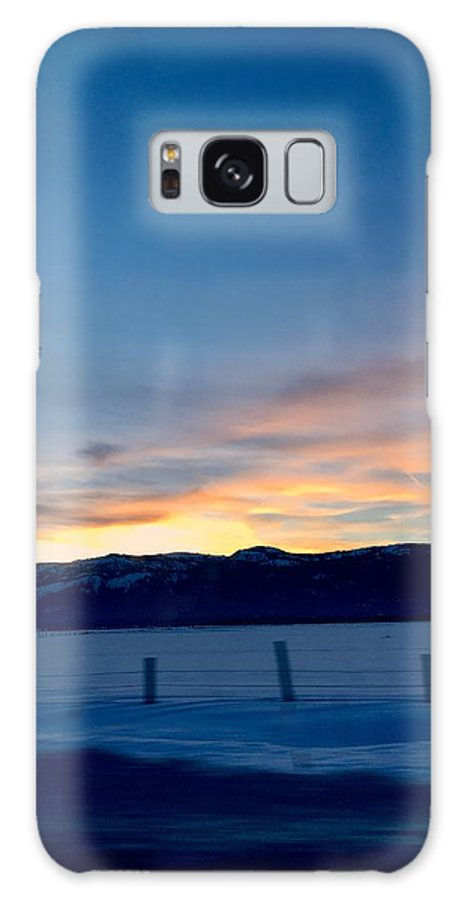 Aunalea Vasquez Galaxy S8 Case featuring the photograph Wintery Sunrises by Aunalea Vasquez